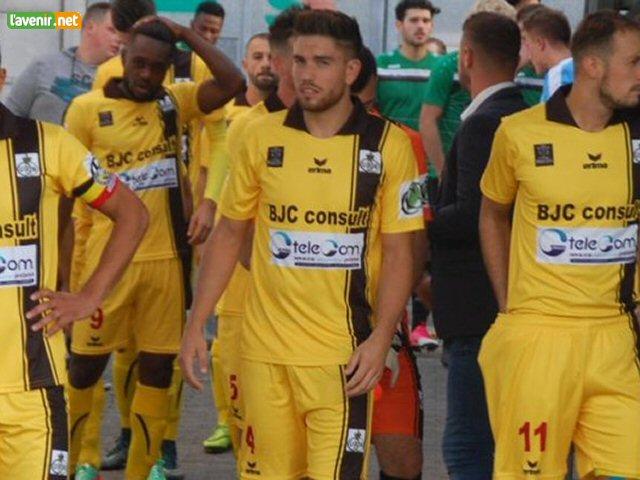 Loïc Vander Cammen (au centre) a mis les siens en garde.